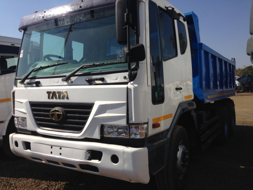 2008 TATA 10 CUBE TIPPERS