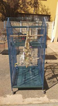 3 x Parrot cages
