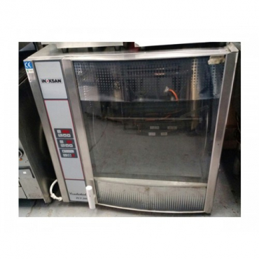 USED INOKSAN CHICKEN GRILLER ROTISSERIE 32-40 BIRD (PCT208 COMBICHICK) ELECTRIC 3 PHASE 380V - 10kW