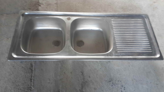 2 Double Bowl Stainless Steel Kitchen Sink R650 E Junk Mail