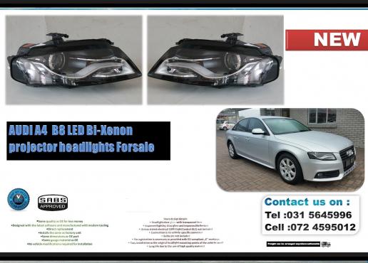 Audi A4 B8 200811 Led Bi Xenon Brand New Headlights For Sale Price