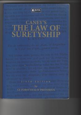 Legal - Book - Suretyship