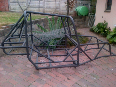 4x4 Pipe Car Cage