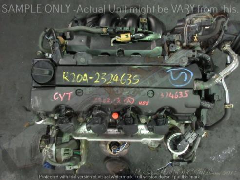 HONDA -R20A 2.0L i-V