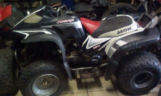 Aeon 180 Cobra x 2 Strippng for spares. Finance available on spares and repairs above R2000