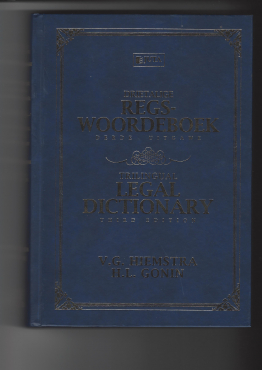 Legal - Book - Dictionary