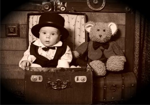 Vintage Old Time Photo Studio