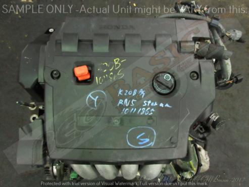 HONDA STREAM -K20B -2.0 i-VTEC 16V Engine -(Aluminium Manifold)