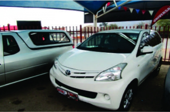 2013 Toyota Avanza SX on auction