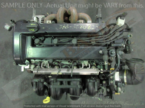 FORD -CJBB 2.0L Duratec EFI 16V Engine (Black Top)