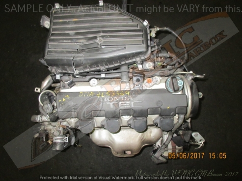 HONDA STREAM -D17A 1.7L VTEC Engine