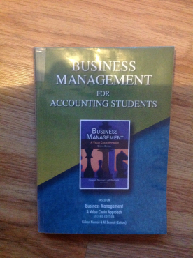 Business Management for accounting students