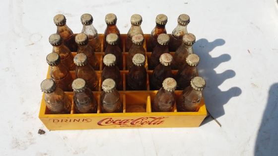 Coca-Cola Vintage bottles