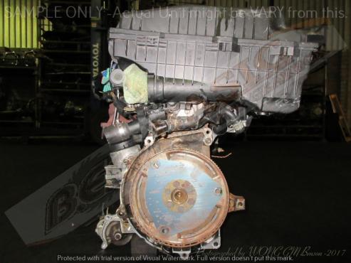 PEUGEOT 307 -10FX6Q -1.6L EFI 16V Engine