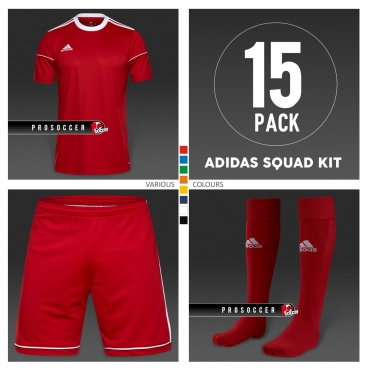 Adidas Squadra 17 Team Kit (15 pack) 4