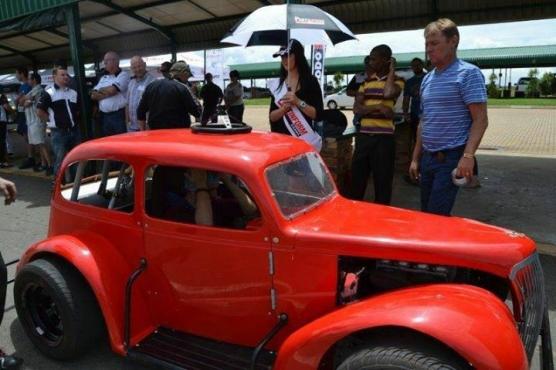 Chevy Sedan Legend Race Car Junk Mail