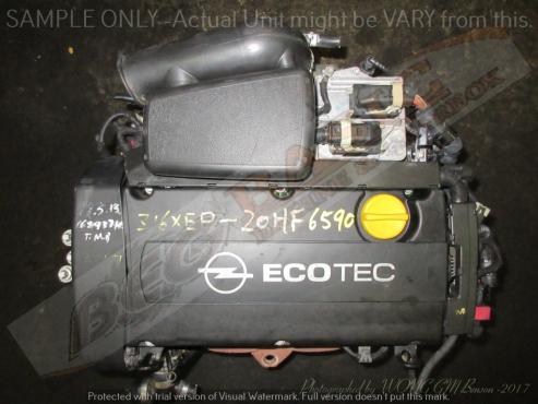 OPEL Z16XEP -1.6L EC