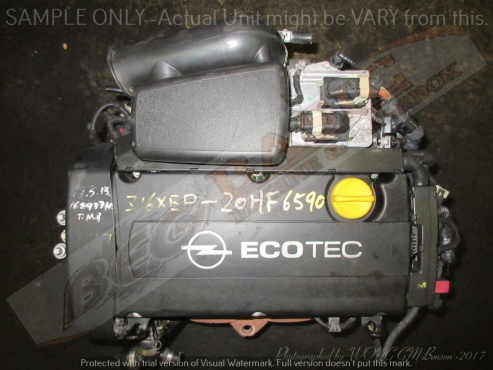 OPEL Z16XEP -1.6L ECOTEC 16V Engine -Corsa