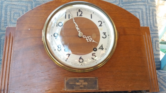 Antique Plymouth Clock