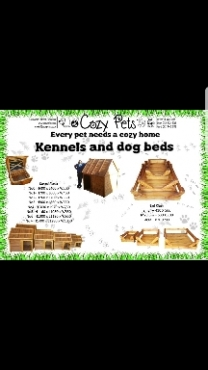 Dog kennels and beds
