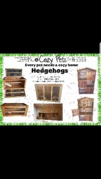 Hedgehog cages