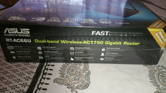 Asus RT-AC66U wireless Gigabit Router