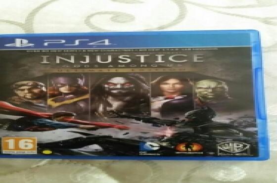 INJUSTICE Gods Among Us PlayStation 4 PS4