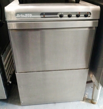 USED COLGED BETA 250 COMMERCIAL DISHWASHER UNDERCOUNTER - GOOD COND. @ R3500.00