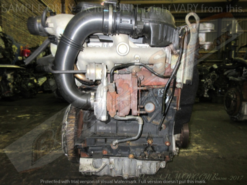 RENAULT -F9QU760 1.9L TURBO DIESEL EFI Engine