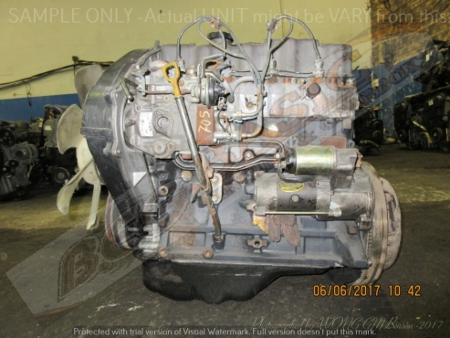 HYUNDAI H100 -D4BA -2.5L NON-TURBO DIESEL Engine
