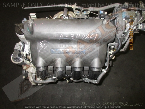 HONDA FIT / JAZZ -L15A -1.5L VTEC Engine (4 Coils)