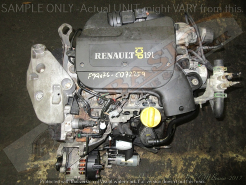 RENAULT -F9QU760 1.9