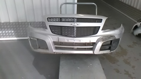 selection of second hand bumpers