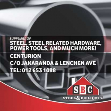 Steel, Steel related hardware, power tools & much more