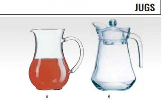 GLASS JUG - WATER JU