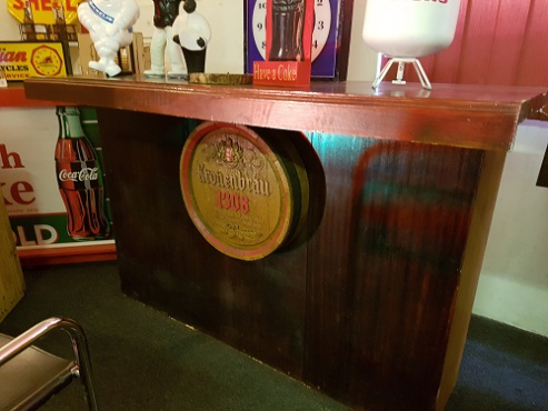 Solid wooden bar