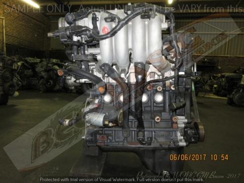 HYUNDAI GETZ -G4EE 1.4L EFI 16V Engine -Aluminium Intake