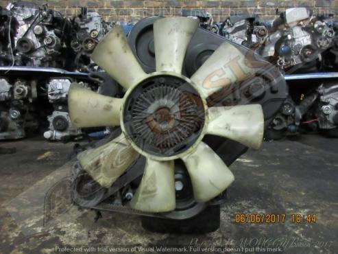 HYUNDAI H100 -D4BF -2.5L Turbo Diesel EFI Engine