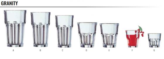GRANITY - GLASSWARE