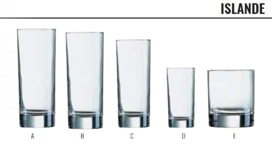 ISLANDE -GLASSWARE