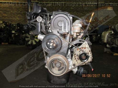 HYUNDAI ACCENT -G4EB 1.5L EFI 12V Engine