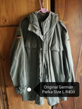 Large german parkas