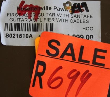 First acer guitar S021510a  #Rosettenvillepawnshop