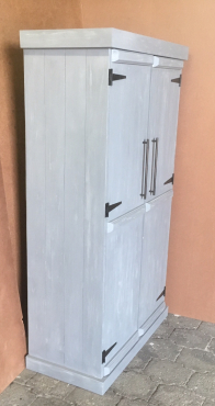 Grocery Cupboard Farmhouse series 1700 Grey washed