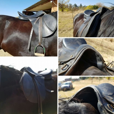 Very good co dition leather saddle 18 inch