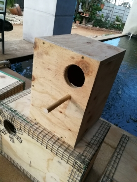 Strong custom built breeding boxes