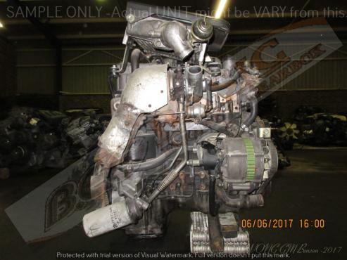 ISUZU WOLF -4JG2 3.1L TURBO DIESEL Engine