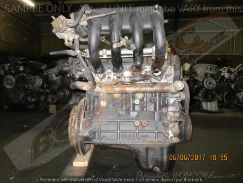 HYUNDAI ACCENT -G4EK 1.5L EFI 12V Engine