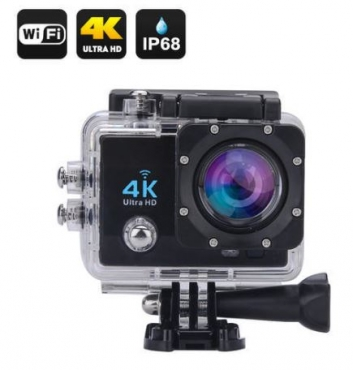 4K WiFi Waterproof Sports Action Camera - Ultra HD - Super Wide Angled Lens - HDMI - Brand New