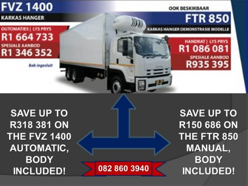 All your NEW Isuzu truck needs at the lowest prices